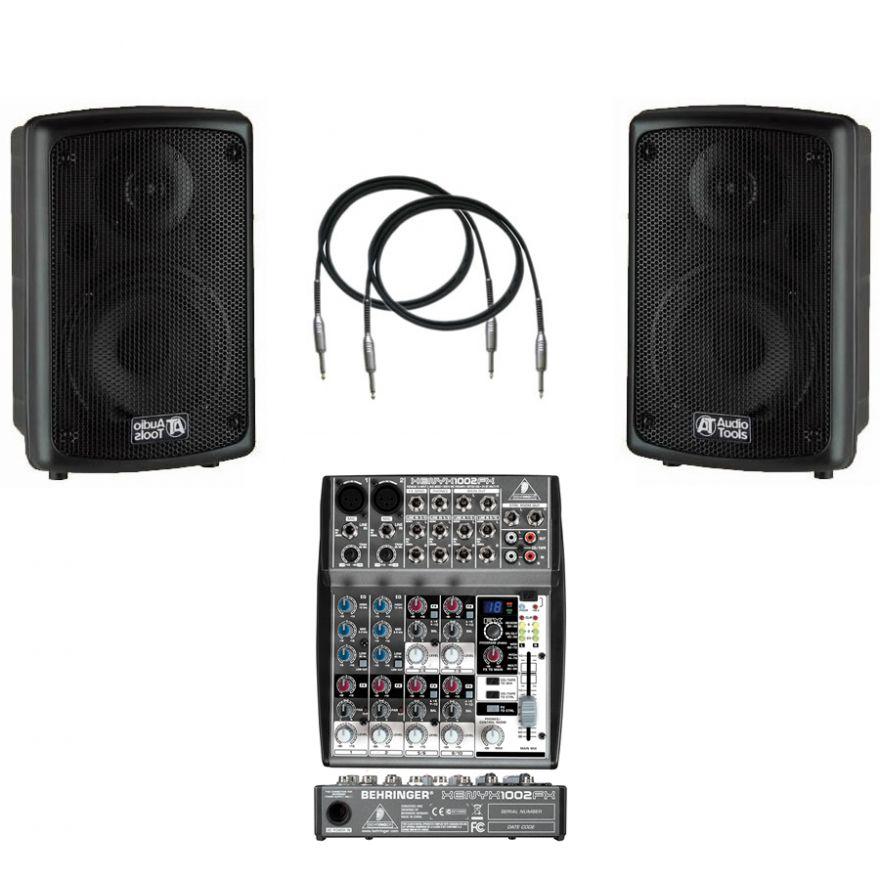 AUDIO TOOLS Bundle (2pz)AS62A + Behringer XENYX 1002FX + Cavi