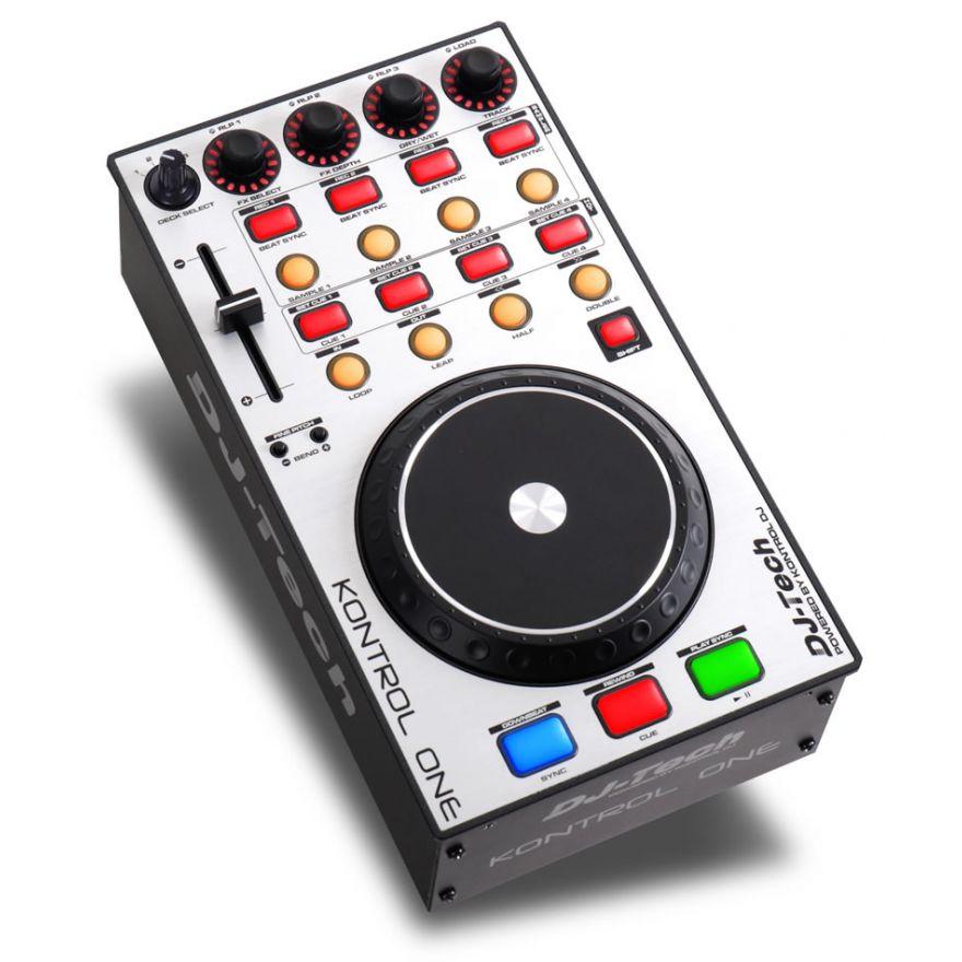 DJ TECH KONTROL ONE - CONTROLLER MIDI/USB PER DJ