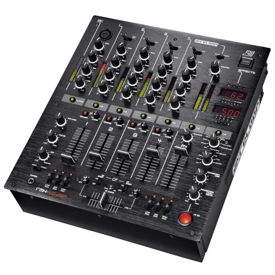 RELOOP RMX40 DSP Black Fire Edition - MIXER PER DJ PROFESSIONAL