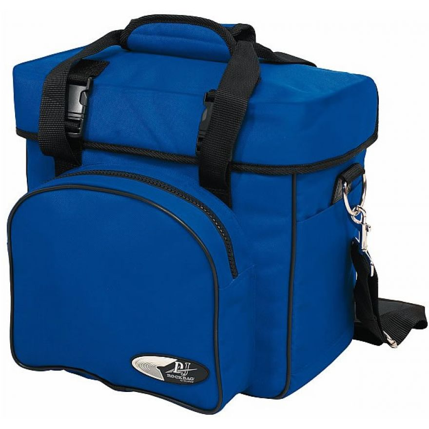 ROCKBAG RB27110BL DJ backpack bag per 20 vinili blue