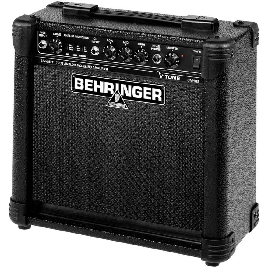 BEHRINGER GM108 V-Tone - AMPLIFICATORE PER CHITARRA 15W CONO 8'