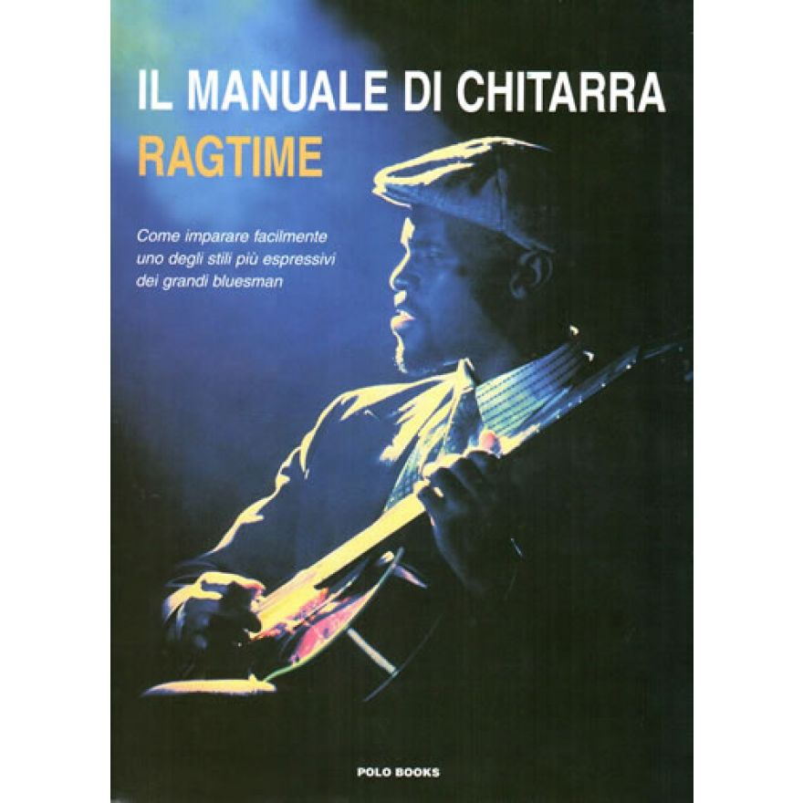 POLO BOOKS Norton, Clay - MANUALE DI CHITARRA RAGTIME