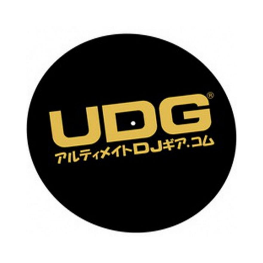 UDG SLIPMAT BLACK & GOLD