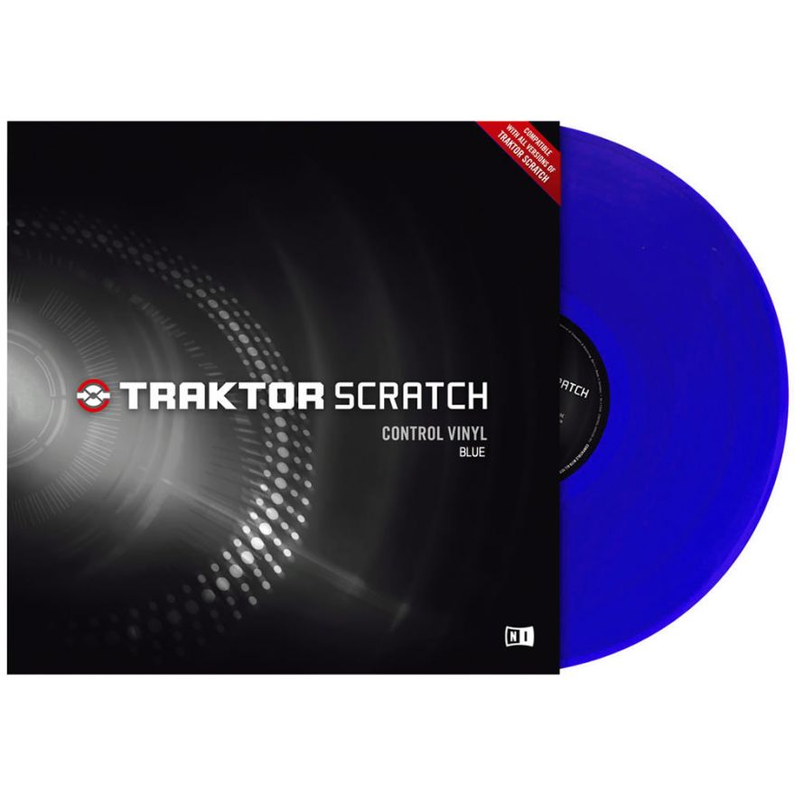 NATIVE INSTRUMENTS TRAKTOR SCRATCH - CONTROL VINYL BLUE