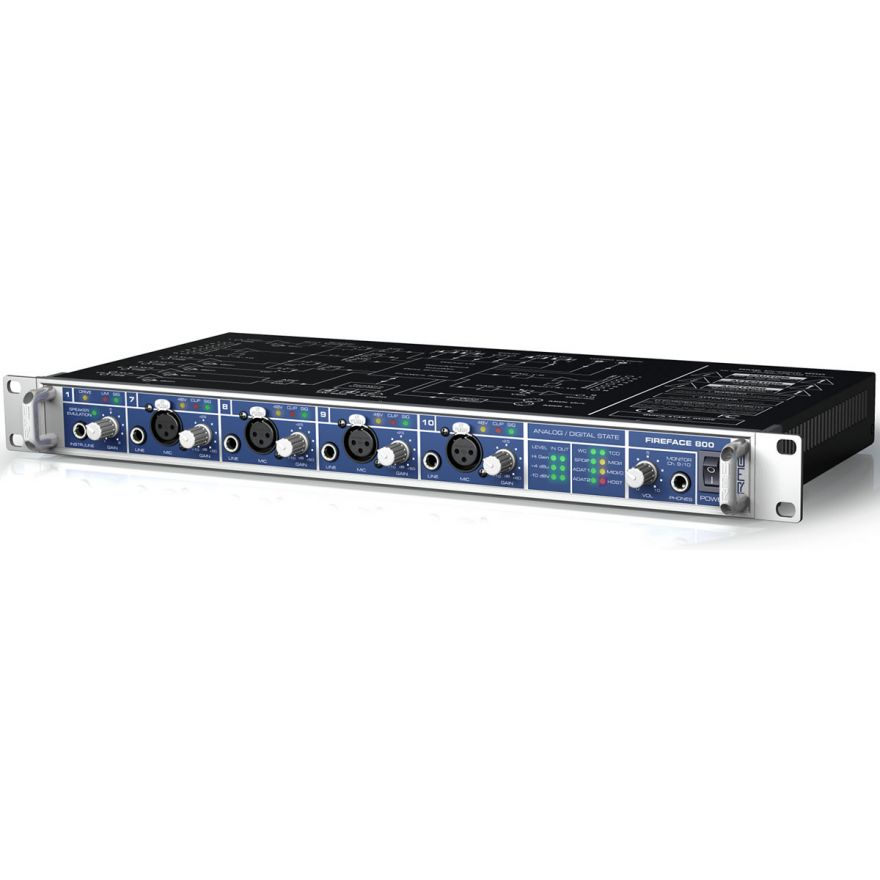 RME FIREFACE 800 - INTERFACCIA AUDIO FIREWIRE 56 CANALI