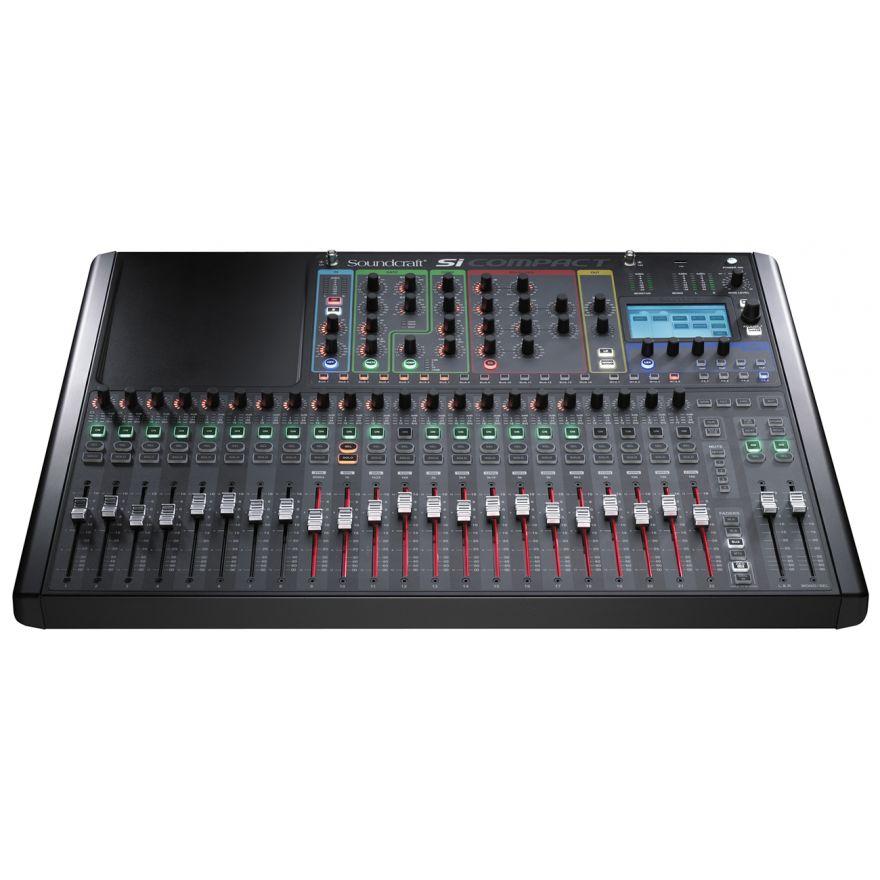 SOUNDCRAFT Si Compact 24 - MIXER DIGITALE 24 IN MONO - 4 STEREO