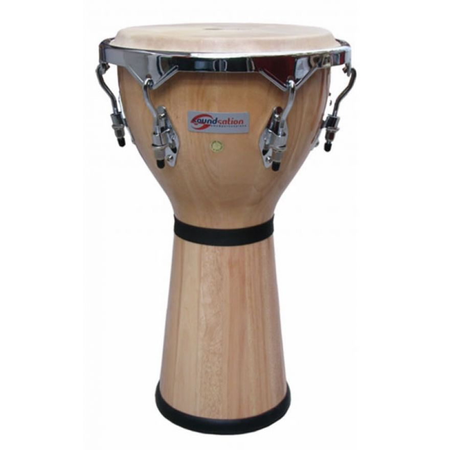 SOUNDSATION  SDJ02-NT - Djembe in legno da 14