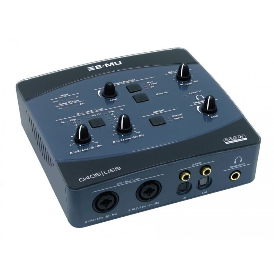 EMU USB 0406 SCHEDA AUDIO
