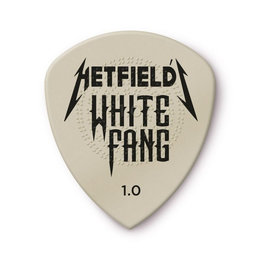 Dunlop - PH122P1.0 White Fang 1.00 mm Pack 6