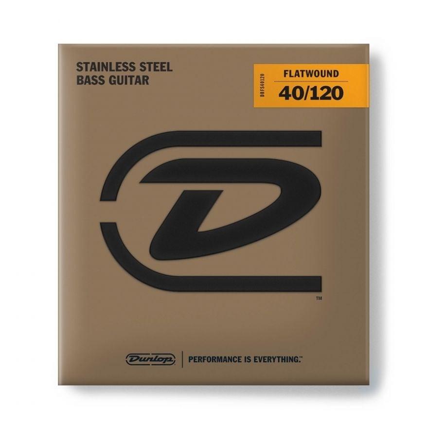 Dunlop - DBFS40120 Flatwound Light Scala lunga Set/5