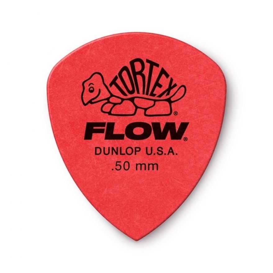 Dunlop - 558R050 Tortex Flow Standard .50 mm Bag/72