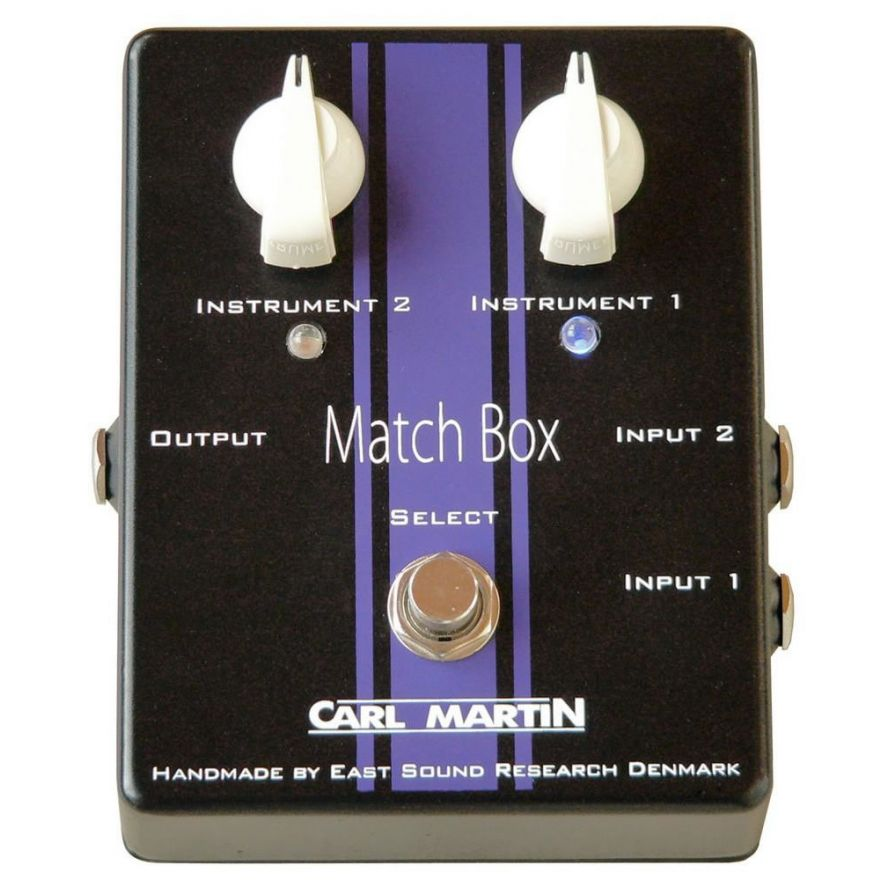 CARL MARTIN MATCH BOX - BUFFER PER CHITARRA