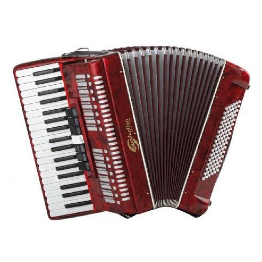SOUNDSATION SAC-3796-RD - Fisarmonica 37 tasti