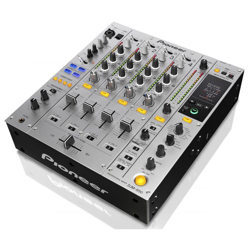 0-PIONEER DJM850S Silver -