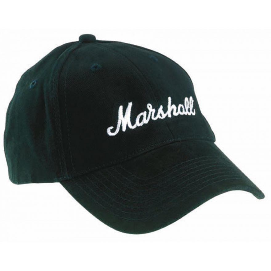 MARSHALL Cappello nero con Logo - ACCS00013