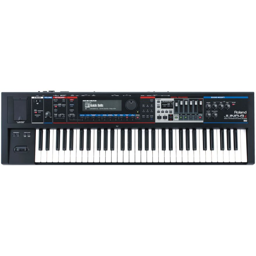 ROLAND JUNO-Gi - Mobile Synthesizer with Digital Recorder