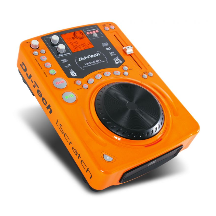DJ TECH ISCRATCH MKII Orange Edition