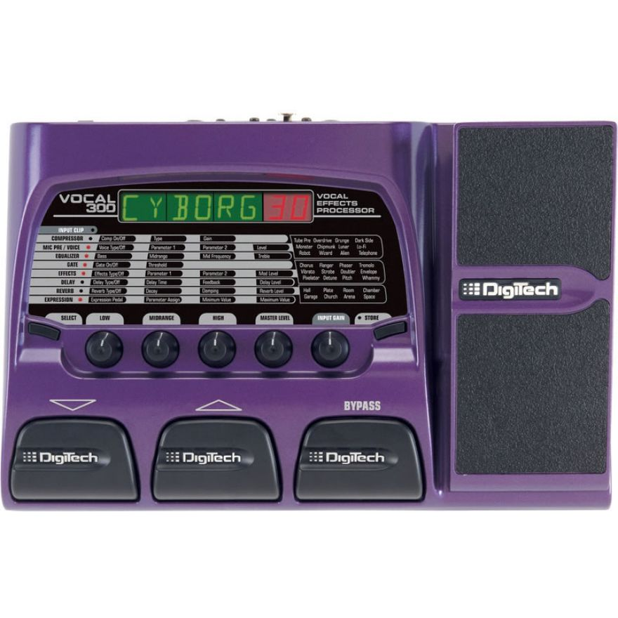 DIGITECH VOCAL 300 - Multieffetto per voce