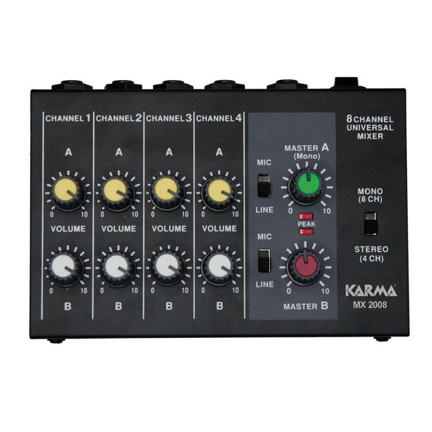 0-KARMA MX 2008 - Mixer 8 c