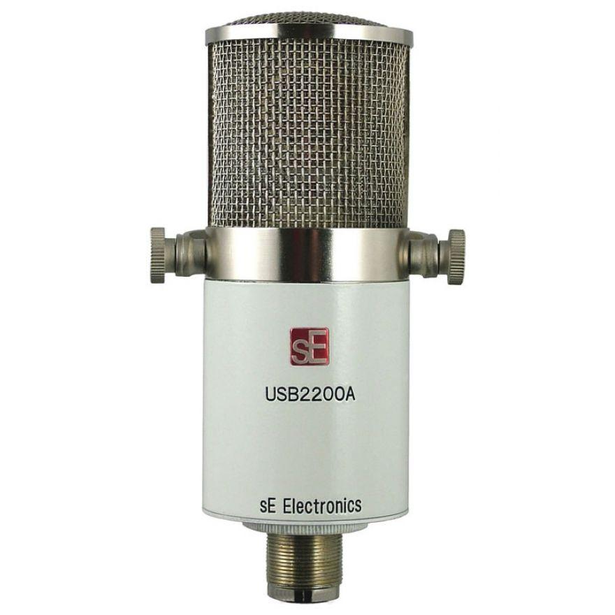 SE ELECTRONICS USB2200a -MICROFONO A CONDENSATORE USB/XLR PC/MAC