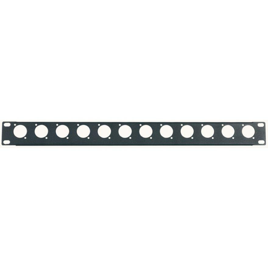 PROEL RK12N - Pannello preforato 1 unitá rack 19
