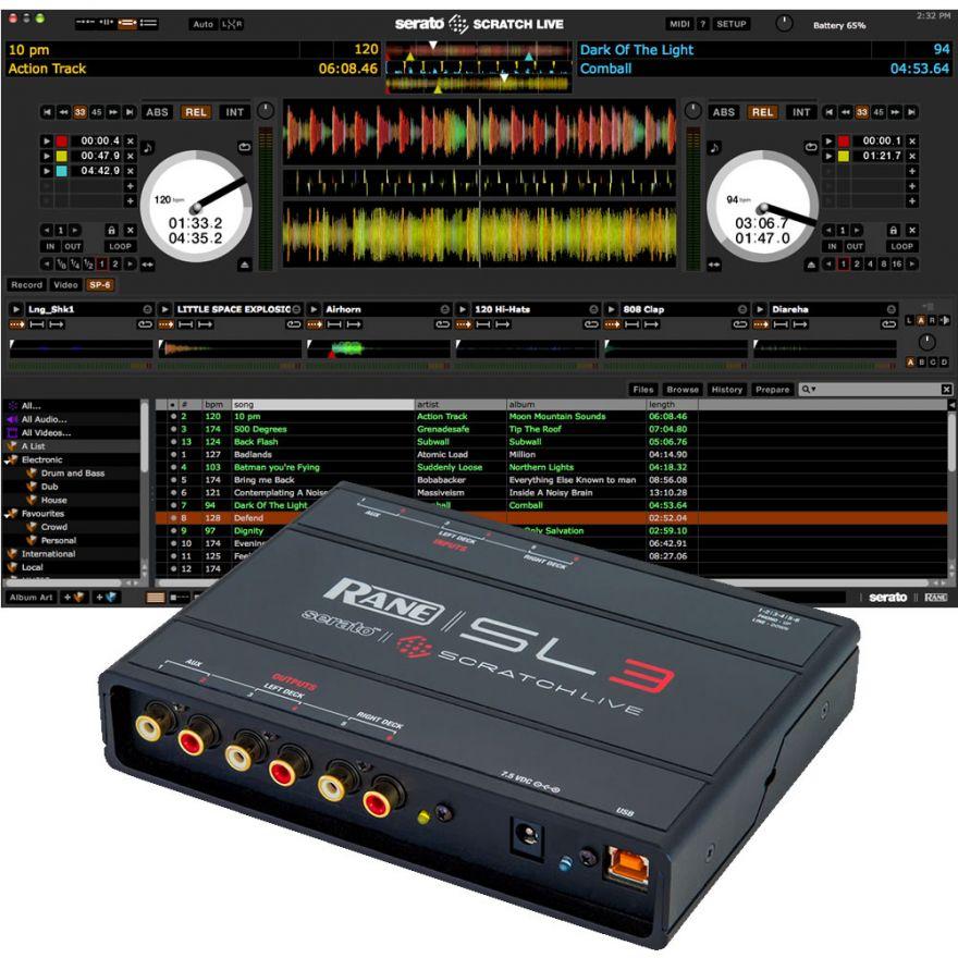 RANE Serato Scratch Live SL3 - INTERFACCIA AUDIO PER DJ