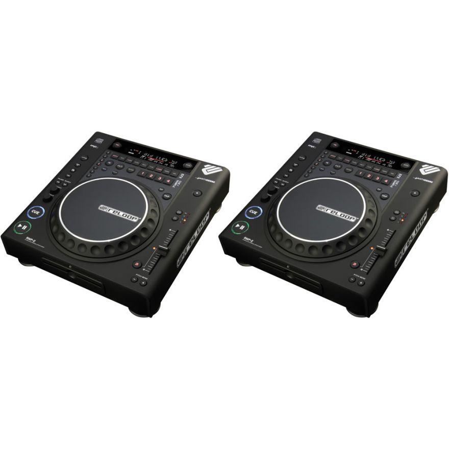 RELOOP (coppia) RMP2B - Lettori CD per DJ con MP3/DSP