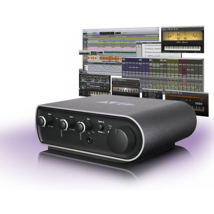 AVID MBox Mini (3rd gen) + Pro Tools 10