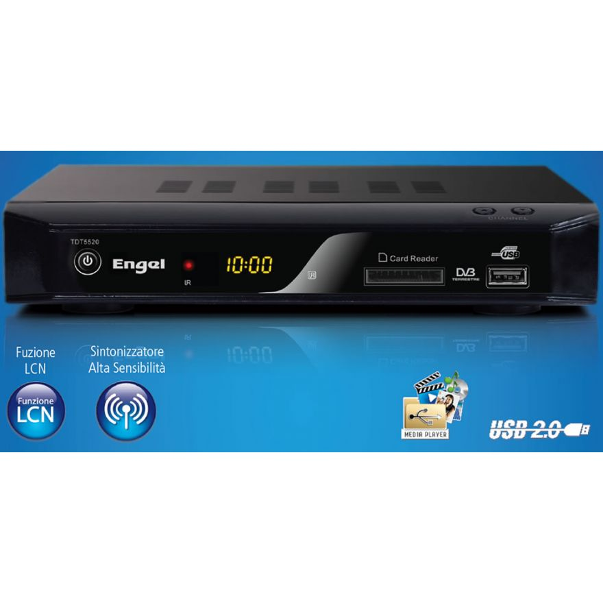 ENGEL RT5520 - RICEVITORE DIGITALE TERRESTRE CON PVR