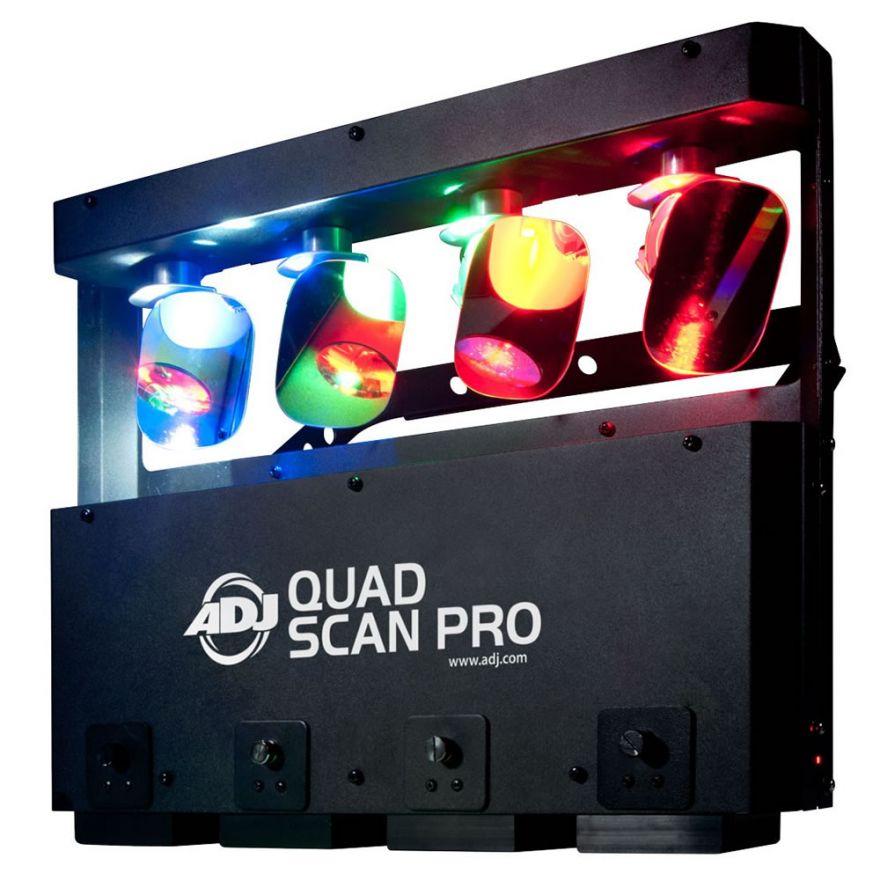 0-AMERICAN DJ QUAD SCAN PRO