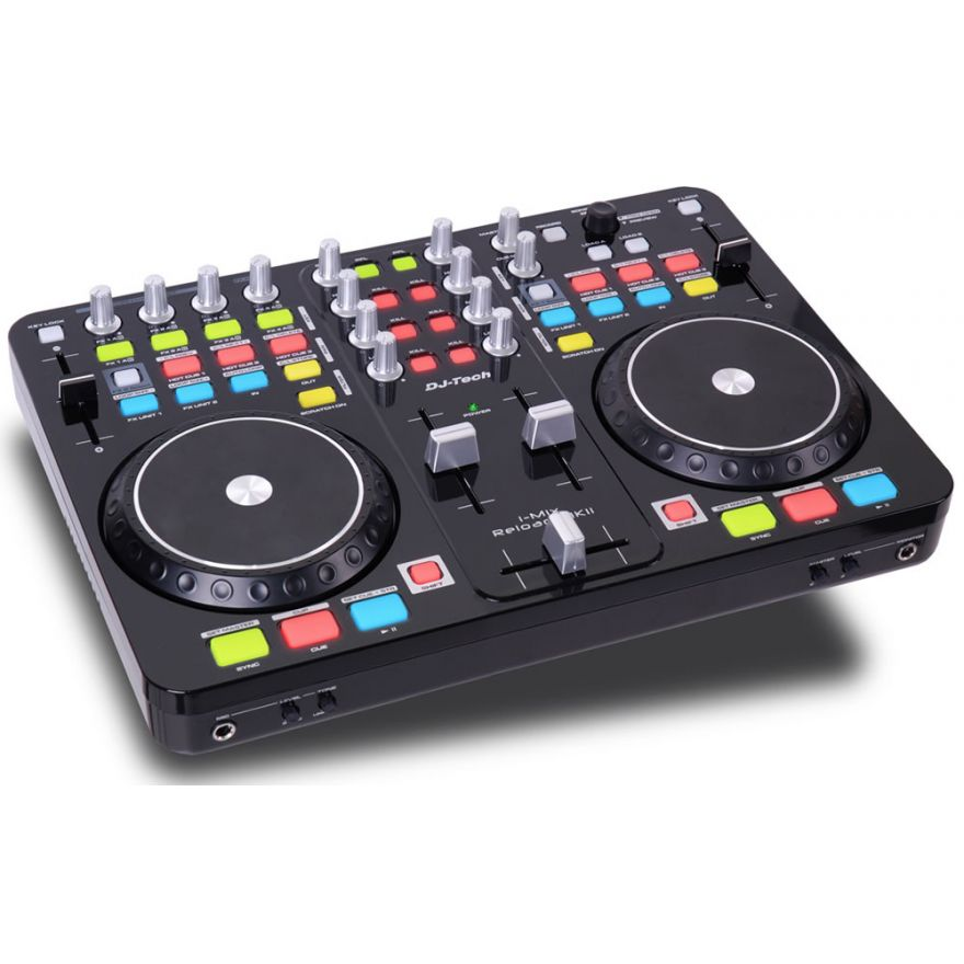 0-DJ TECH I-MIX RELOAD MKII