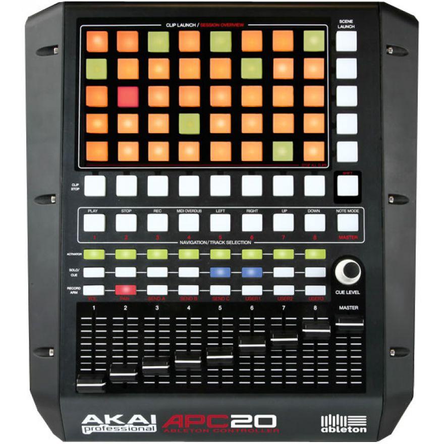 AKAI APC20 - ABLETON PERFORMANCE CONTROLLER