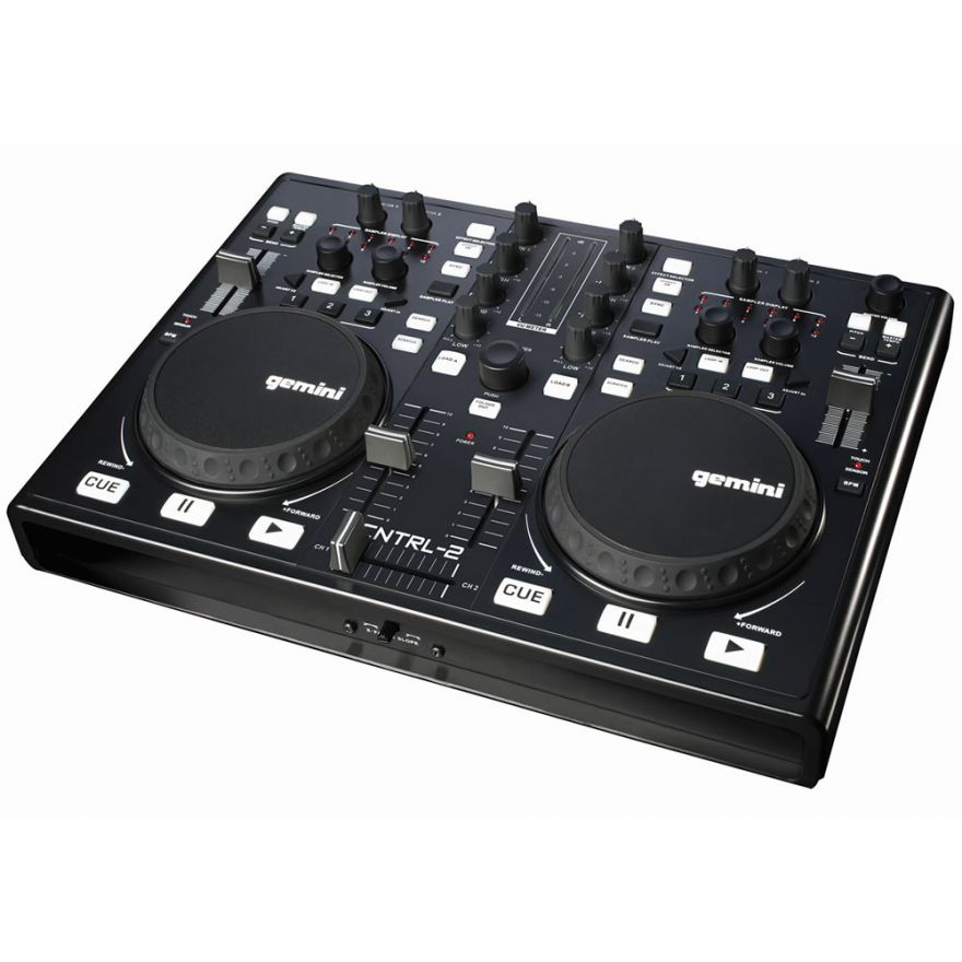GEMINI CNTRL2 - CONTROLLER MIDI USB PER DJ