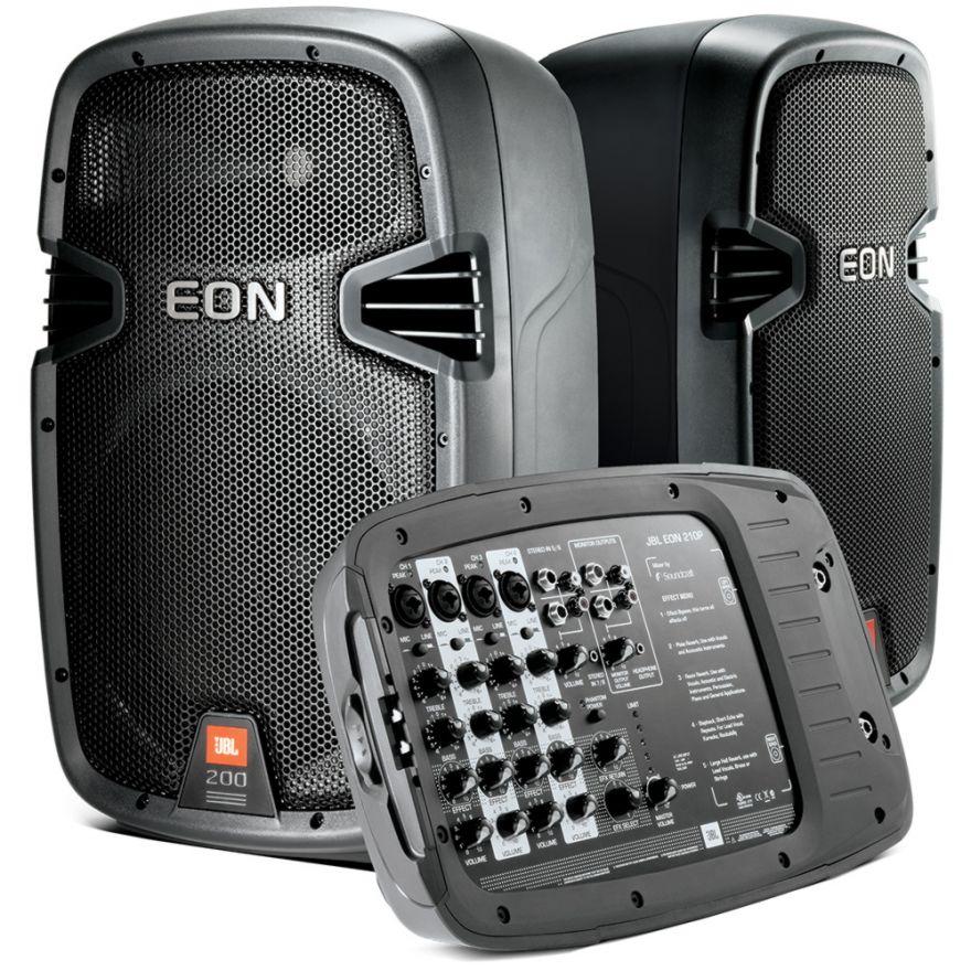 0-JBL EON 210P Portable PA