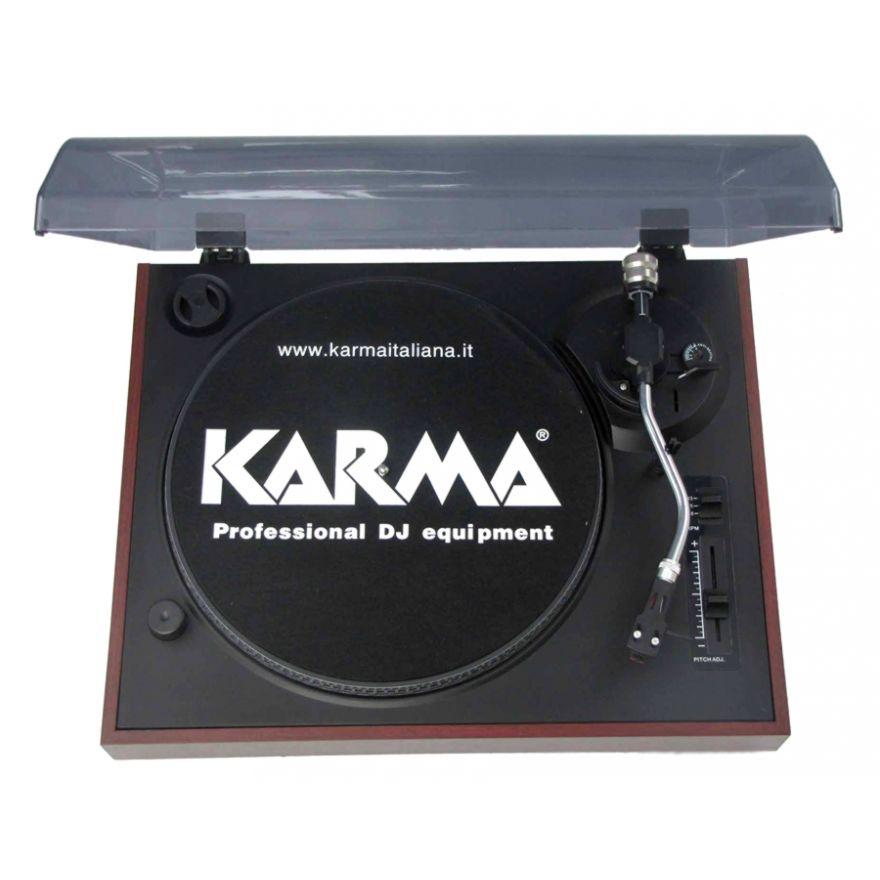 KARMA GR 68 - GIRADISCHI TRAZIONE A CINGHIA CON PRESA USB