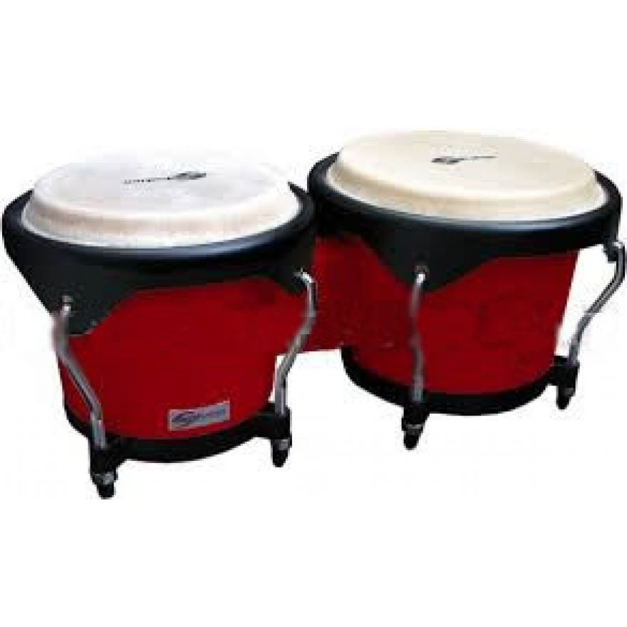 SOUNDSATION SB01-RD - Bongos 6 + 7 in Legno
