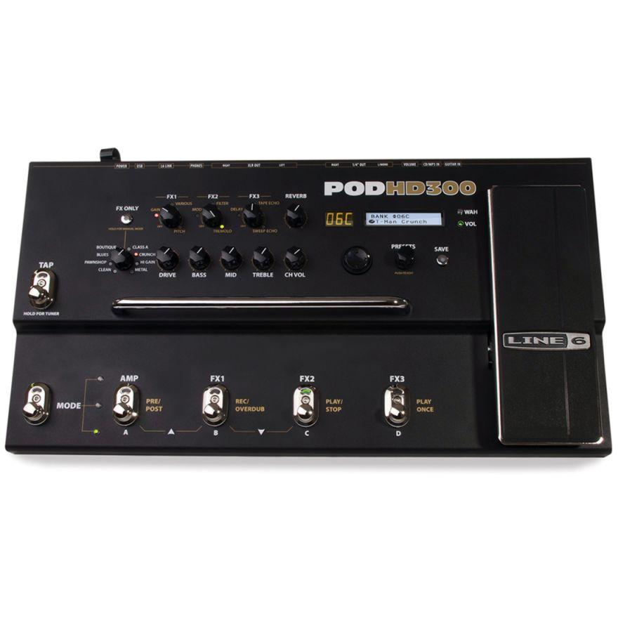 LINE6 POD HD300 - MULTIEFFETTO HD PER CHITARRA E BASSO