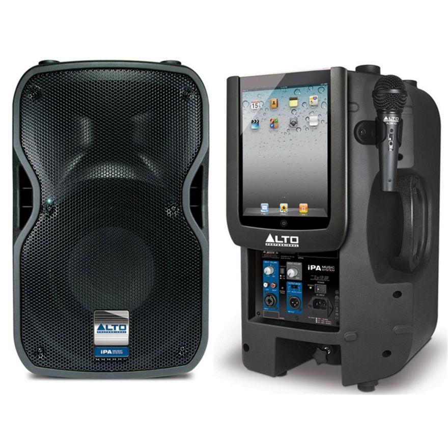ALTO iPAD MUSIC SYSTEM CASSA ATTIVA 400W
