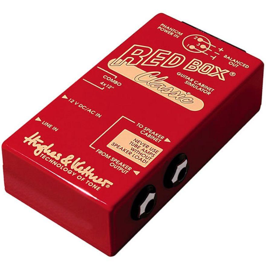 HUGHES&KETTNER RED BOX CLASSIC - BOX CON EMULAZIONE