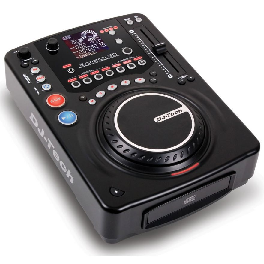 DJ TECH ISCRATCH 90 (COPPIA)  - LETTORE CD/MP3