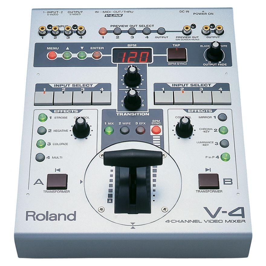 ROLAND V4 - MIXER VIDEO CON EFFETTI