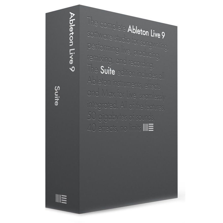 ABLETON Live 9 Suite Upgrade from Intro