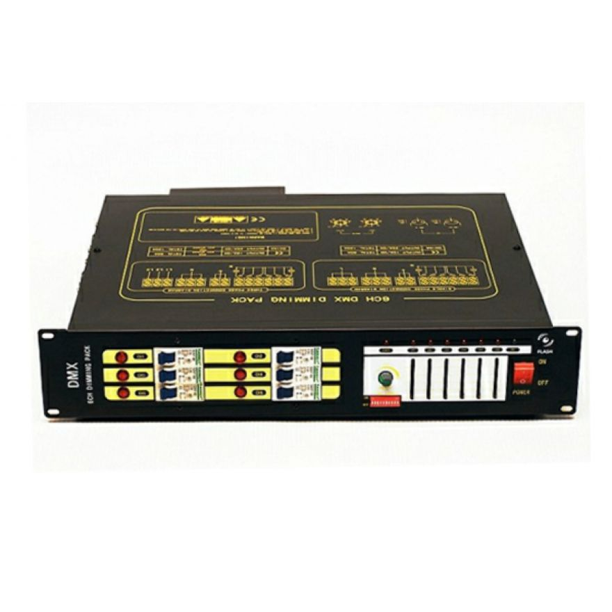 FLASH 6CH DMX DIMMER PACK - Dimmer Pack 6 Canali