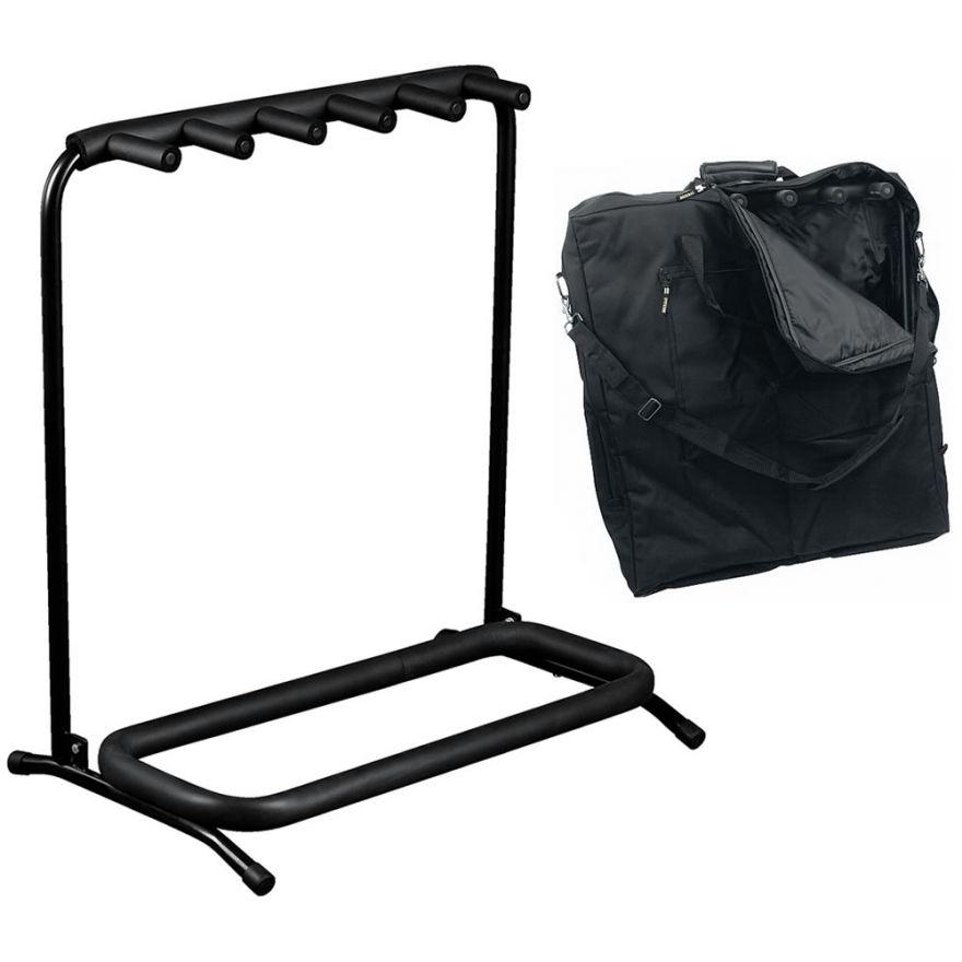 ROCKSTAND RS20861B/B/2 Stand per 5 strumenti con borsa