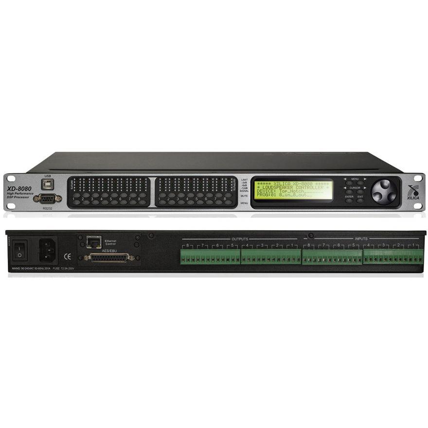 0-XILICA XD 8080 PROCESSORE
