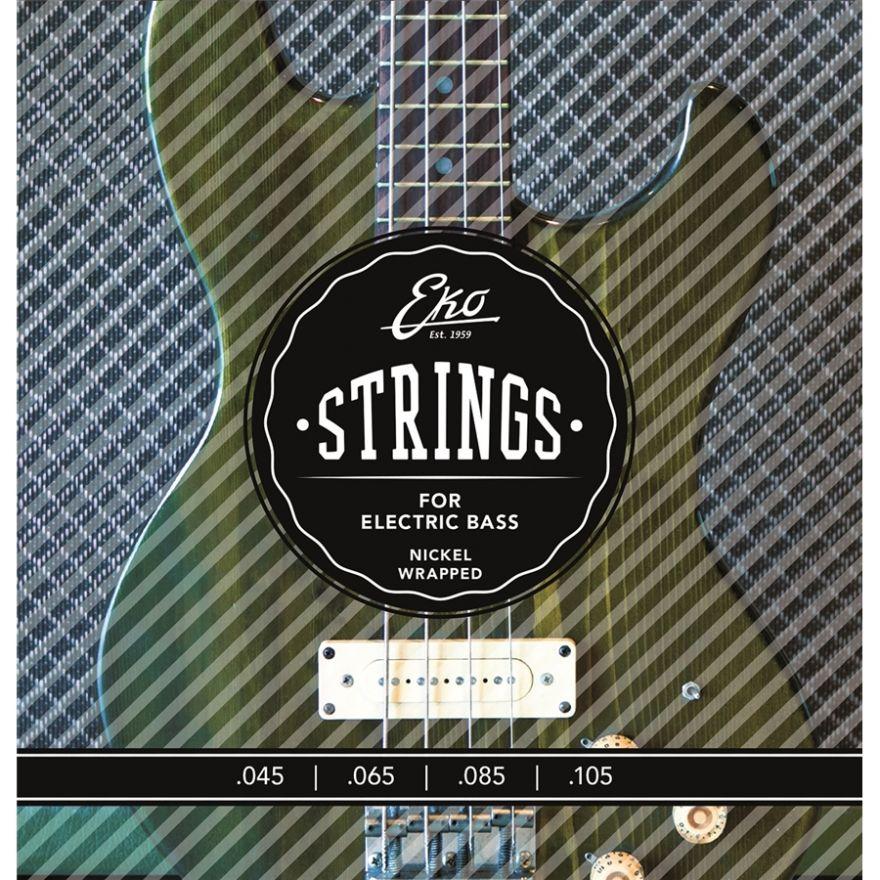 0 Eko - Electric Bass Strings 45-105 set