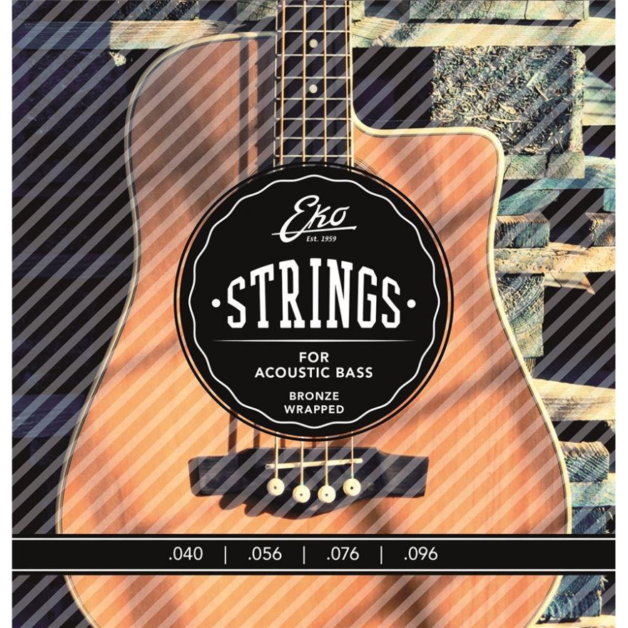 0 Eko - Acoustic Bass Strings 40-96 set