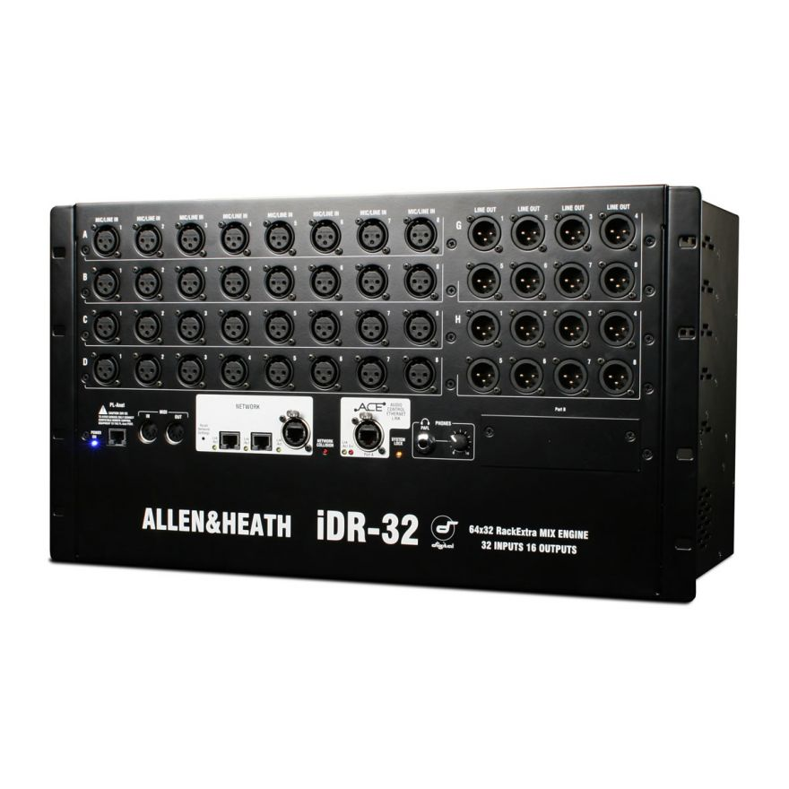 ALLEN & HEATH STAGEBOX iDR-32 - STAGEBOX 32 IN 16 OUT