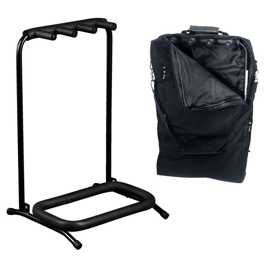ROCKSTAND RS20860B/B/2 Stand per 3 strumenti con borsa