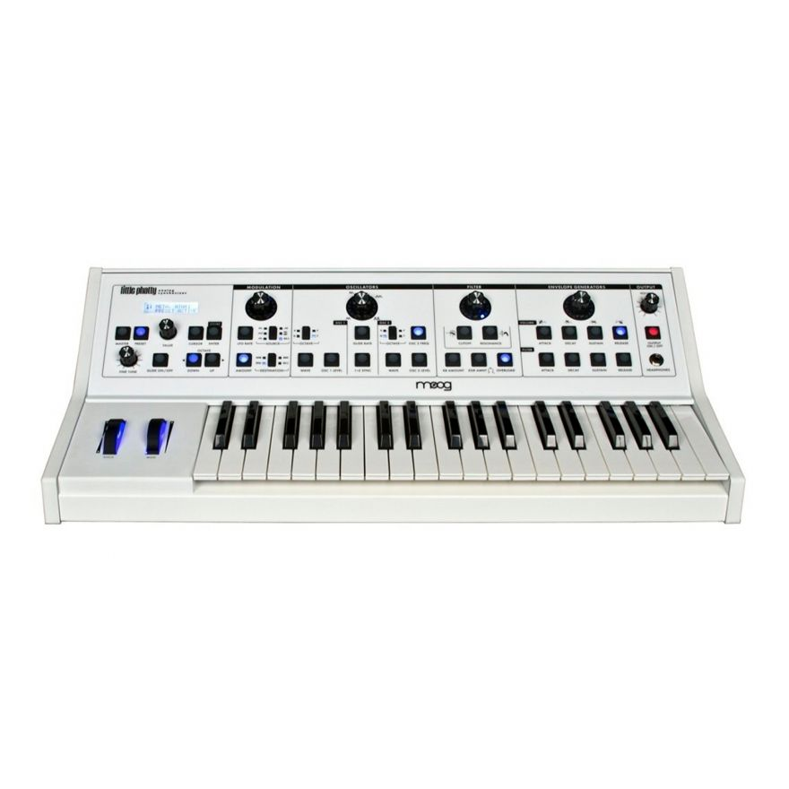 MOOG Little Phatty Stage II White